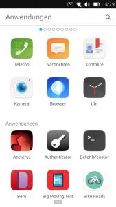 UBPorts - die App-Übersicht